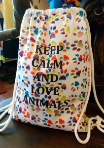 Plecak-torba Keep calm and love animals Ventus